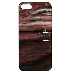 Pier At Midnight Apple Iphone 5 Hardshell Case With Stand