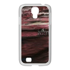 Pier At Midnight Samsung Galaxy S4 I9500/ I9505 Case (white)