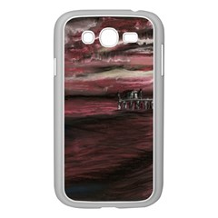 Pier At Midnight Samsung Galaxy Grand Duos I9082 Case (white)
