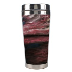 Pier At Midnight Stainless Steel Travel Tumbler