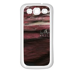 Pier At Midnight Samsung Galaxy S3 Back Case (white)
