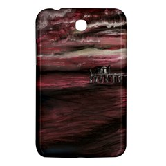 Pier At Midnight Samsung Galaxy Tab 3 (7 ) P3200 Hardshell Case