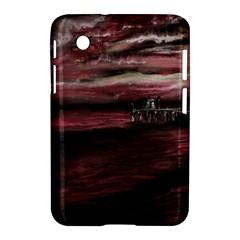 Pier At Midnight Samsung Galaxy Tab 2 (7 ) P3100 Hardshell Case