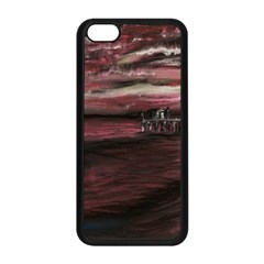 Pier At Midnight Apple iPhone 5C Seamless Case (Black)