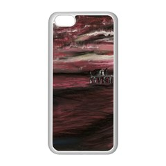 Pier At Midnight Apple iPhone 5C Seamless Case (White)
