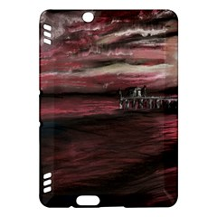 Pier At Midnight Kindle Fire HDX 7  Hardshell Case