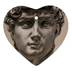 David Heart Ornament