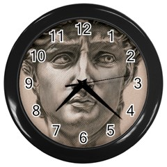 David Wall Clock (Black)