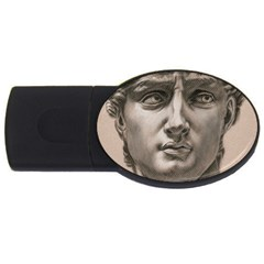 David 4gb Usb Flash Drive (oval)