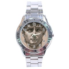 David Stainless Steel Watch