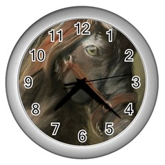 Storm Wall Clock (Silver)