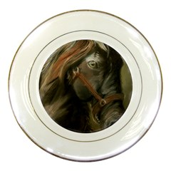 Storm Porcelain Display Plate
