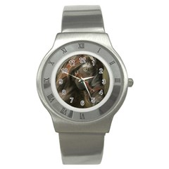 Storm Stainless Steel Watch (Slim)