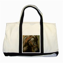 Storm Two Toned Tote Bag