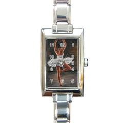 Ballet Ballet Rectangular Italian Charm Watch