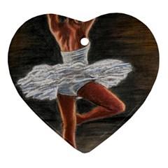 Ballet Ballet Heart Ornament