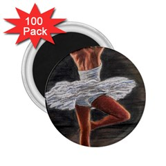 Ballet Ballet 2.25  Button Magnet (100 pack)