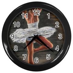 Ballet Ballet Wall Clock (black)