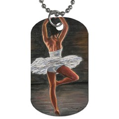 Ballet Ballet Dog Tag (One Sided)