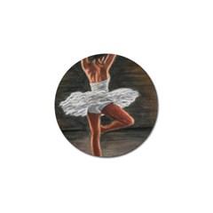 Ballet Ballet Golf Ball Marker 10 Pack