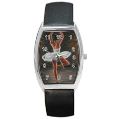 Ballet Ballet Tonneau Leather Watch
