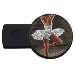 Ballet Ballet 4gb Usb Flash Drive (round)
