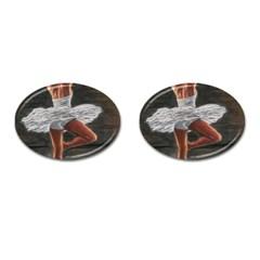 Ballet Ballet Cufflinks (Oval)