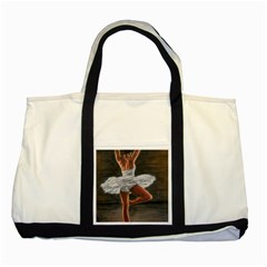 Ballet Ballet Two Toned Tote Bag