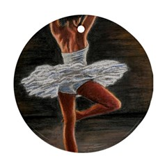 Ballet Ballet Round Ornament (Two Sides)