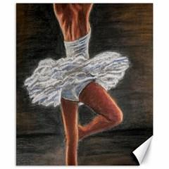 Ballet Ballet Canvas 8  x 10  (Unframed)