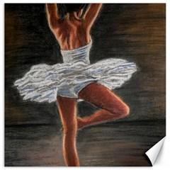 Ballet Ballet Canvas 16  x 16  (Unframed)