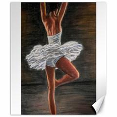 Ballet Ballet Canvas 20  X 24  (unframed)