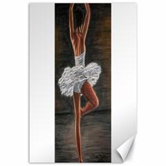 Ballet Ballet Canvas 24  x 36  (Unframed)