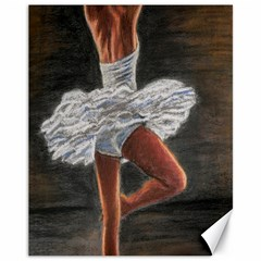 Ballet Ballet Canvas 11  X 14  (unframed)