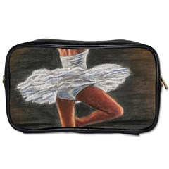 Ballet Ballet Travel Toiletry Bag (Two Sides)