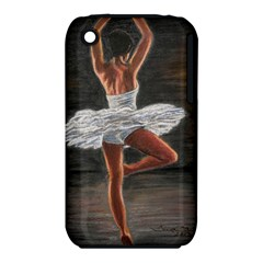 Ballet Ballet Apple Iphone 3g/3gs Hardshell Case (pc+silicone)