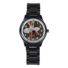 Ballet Ballet Sport Metal Watch (Black)