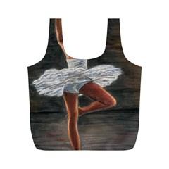 Ballet Ballet Reusable Bag (m)