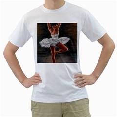 Ballet Ballet Men s T-Shirt (White)