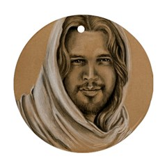 Messiah Round Ornament (Two Sides)