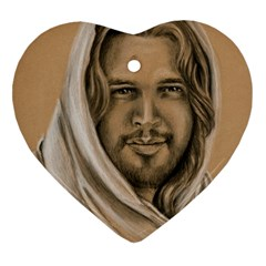 Messiah Heart Ornament (Two Sides)
