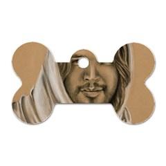 Messiah Dog Tag Bone (one Sided)