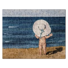 Mom s White Hat Jigsaw Puzzle (rectangle)