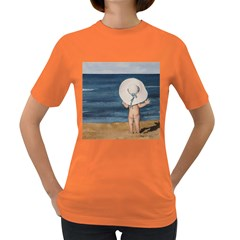 Mom s White Hat Women s T-shirt (Colored)