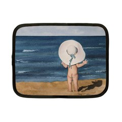 Mom s White Hat Netbook Sleeve (small)
