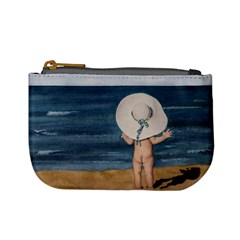 Mom s White Hat Coin Change Purse