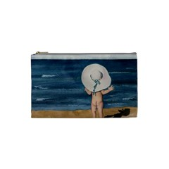 Mom s White Hat Cosmetic Bag (small)