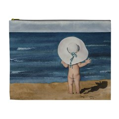 Mom s White Hat Cosmetic Bag (XL)