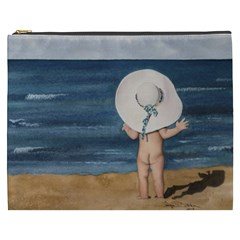 Mom s White Hat Cosmetic Bag (XXXL)