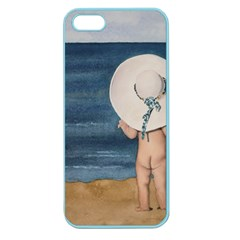 Mom s White Hat Apple Seamless iPhone 5 Case (Color)